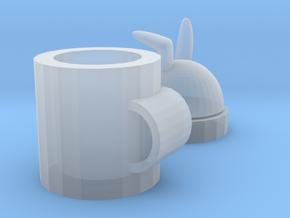 rabbit mug in Smooth Fine Detail Plastic: Medium