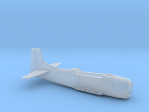 T-28B-200scale-01-InFlight-AirFrame in Smooth Fine Detail Plastic