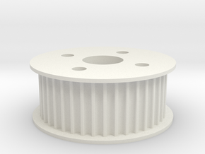 Sam_Pulley in White Natural Versatile Plastic