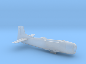T-28B-200scale-06-OnTheDeck-AirFrame in Smooth Fine Detail Plastic