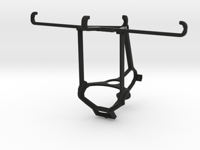 Steam controller & alcatel Idol 4s - Over the top in Black Natural Versatile Plastic