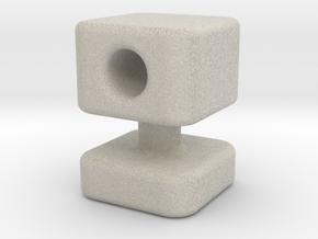 Knob 13 in Natural Sandstone