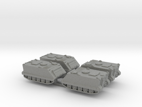 1:160 n scale M113 APC set of 4 in Gray Professional Plastic