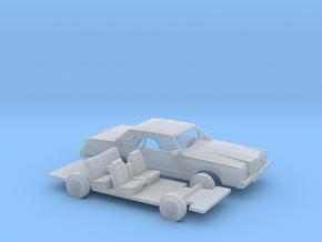 1/87 1980-83 Lincoln Mark VI Kit in Smooth Fine Detail Plastic