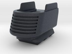SIG P365 - Full Grip Base Pad w/Rail in Black PA12