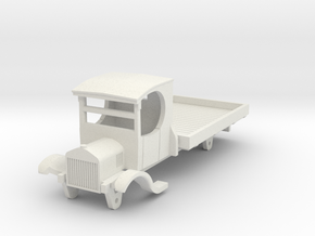 0-76-ford-lorry-1a in White Natural Versatile Plastic