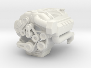 ROVER V8 3.5L for Defender in White Natural Versatile Plastic