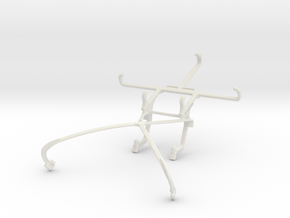 Controller mount for Shield 2015 & LG Optimus Vu I in White Natural Versatile Plastic