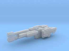 HALO. UNSC Stalwart Class Frigate 1:3000 in Smooth Fine Detail Plastic