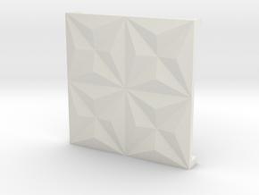 3d tile_1_porcelain in White Natural Versatile Plastic