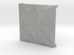 3d tile_1_porcelain in Aluminum