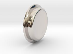 TBF# - 21700 - Button in Platinum