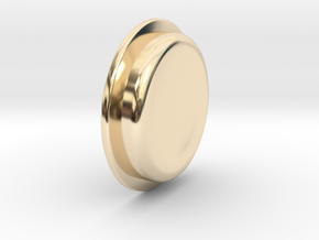 TBF# - 21700 - Button in 14K Yellow Gold