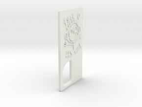 TLF# - Stick Man Door in White Natural Versatile Plastic