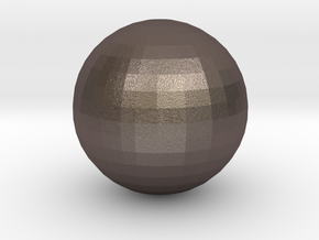 Ball in Polished Bronzed-Silver Steel