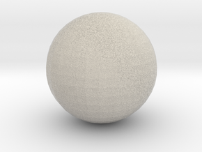 Ball in Natural Sandstone