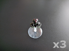 Pylon orbital platform (light weaponry) x3 in Smooth Fine Detail Plastic