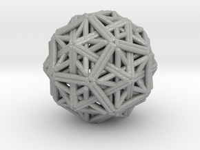 Hedron star Family Version 1 in Aluminum