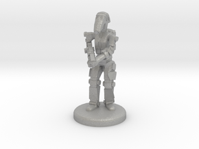 Battle Droid 20mm scale (25mm tall) in Aluminum