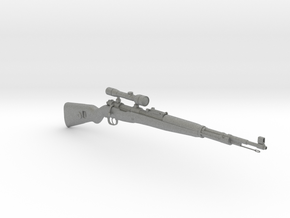 1/3rd Scale KAR 98 Sniper Rifle in Gray Professional Plastic
