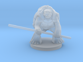 Turtlefolk Monk in Smooth Fine Detail Plastic