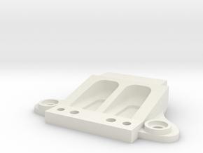 Mini-Z Ferrari F40 front body mount in White Natural Versatile Plastic