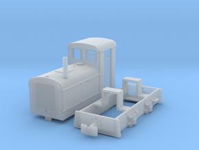 Feldbahnlok DIEMA DS20 Spur 0 e/F in Smooth Fine Detail Plastic