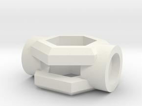 Windu Elite CrystalHolder - (Part 4/8) in White Natural Versatile Plastic