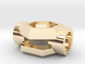 Windu Elite CrystalHolder - (Part 4/8) in 14K Yellow Gold