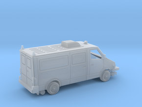 MOW Service Van With AC Unit HO 1-87 Scale in Smooth Fine Detail Plastic
