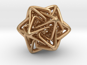 Crystal Star in Natural Bronze