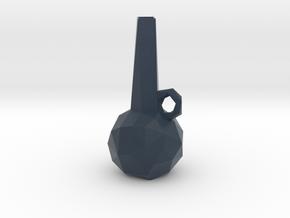 Low Poly Vase in Matte Full Color Sandstone