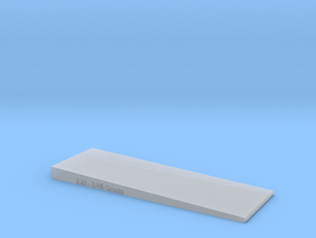 2 Inch Wide- Grade checker/leveler  in Smooth Fine Detail Plastic