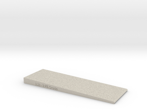 2 Inch Wide- Grade checker/leveler  in Natural Sandstone