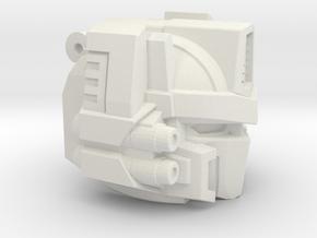 Powermaster OP Head in White Natural Versatile Plastic