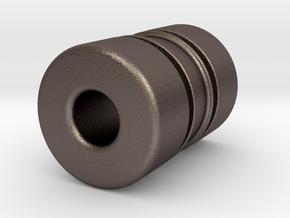 N-n36060P in Polished Bronzed-Silver Steel
