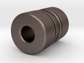 N-n36040X in Polished Bronzed-Silver Steel