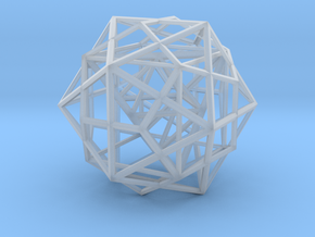 Nested Platonic Solids in Smooth Fine Detail Plastic