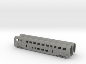 N07A - SBB Twindexx 2nd Class Trailer - N Scale in Gray PA12