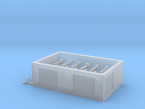 SPMT Hydraulikmodul 1:120 TT in Smooth Fine Detail Plastic