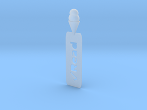 "Ice Cream Cone ""Read"" bookmark in Smooth Fine Detail Plastic"