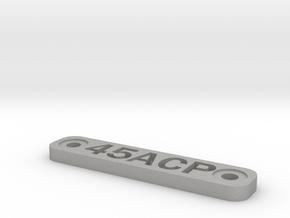 Caliber Marker - MLOK - 45ACP in Aluminum