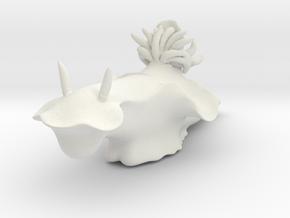 Cerasotoma trilobatum in White Natural Versatile Plastic