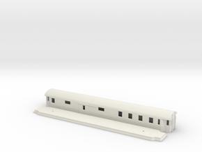 CFo4 - Swedish passenger wagon in White Natural Versatile Plastic
