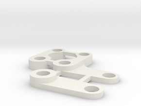 tamiya avante and vanquish steering arms parts in White Natural Versatile Plastic