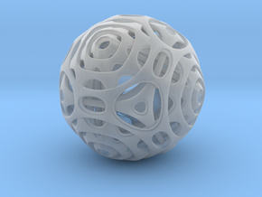 Cube to Octahedron Transition in Smooth Fine Detail Plastic