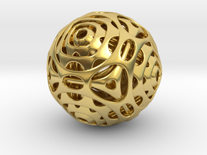Cube to Octahedron Transition in Polished Brass (Interlocking Parts)