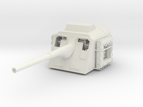 1/32 DKM 15cm 55 (5.9in) TBts KC/36 Gun in White Natural Versatile Plastic