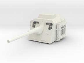 1/32 DKM 15cm 55 (5.9in) TBts KC/36 Gun in White Natural Versatile Plastic