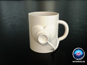 Coffee Mug - Healthcare in White Natural Versatile Plastic